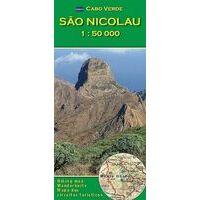 AB Kartenverlag Wandelkaart Sao Nicolau 1:50.000