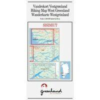 Greenland Wandelkaart Sisimiut 1:100.000 (West-Groenland)