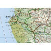 Cartographia Wegenkaart Angola 1:2.000.000