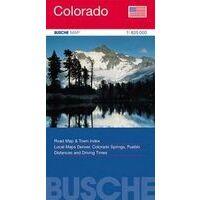 Busche Maps Wegenkaart Colorado