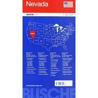 Busche Maps Wegenkaart Nevada