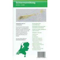 Kaartenenatlassen Topografische (wandel)kaart Schiermonnikoog