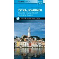 Kartografija Topografische Kaart Istrie En Kvarner Kuststreek