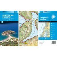 Kartografija Topografische Kaart Kust Van Montenegro 1:100.000