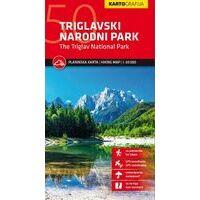 Kartografija Topografische Wandelkaart National Park Triglav