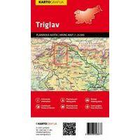 Kartografija Topografische Wandelkaart Triglavgebergte