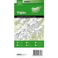 Kartografija Triglav Wandelkaart Pocket 1:25.000