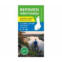 Karttakeskus FInland Wandelkaart Repovesi Mäntyharju