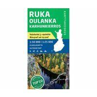 Karttakeskus FInland Wandelkaart Ruka Oulanka Karhunkierros (Bear Trail)