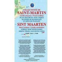 Kasprowski Maps Wegenkaart Sint Maarten & Saint Martin 1:15.000