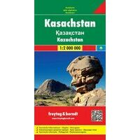Freytag En Berndt Landkaart Kazachstan