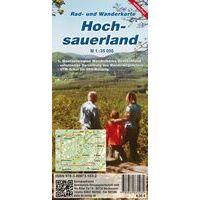 Kk Verlag Wandelfietskaart Hochsauerland