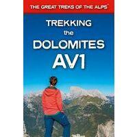 Knife Edge Wandelgids Trekking The Dolomites AV1