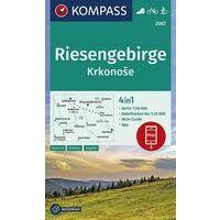 Kompass Wandelkaart 2087 Reuzengebergte