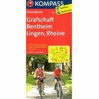 Kompass Fietskaart 3034 Grafschaft Bentheim