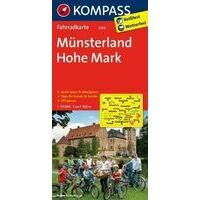 Kompass Fietskaart 3050 Naturpark Hohe Mark