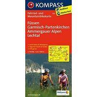 Kompass Fietskaart 3127 Füssen, Garmisch-Partenkirchen