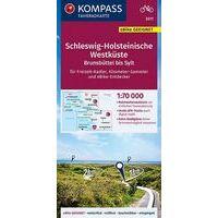 Kompass Fietskaart 3311 Schleswig-Holsteinische Westküste