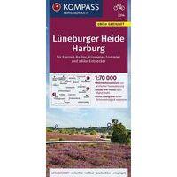 Kompass Fietskaart 3314 Lüneburger Heide - Harburg