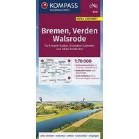 Kompass Fietskaart 3315 Bremen - Verden - Walsrode