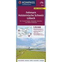 Kompass Fietskaart 3316 Fehmarn - Holsteinische Schweiz