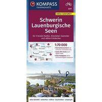 Kompass Fietskaart 3317 Schwerin