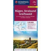 Kompass Fietskaart 3319 Rügen - Stralsund - Greifswald