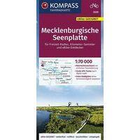 Kompass Fietskaart 3320 Mecklenburgische Seenplatte