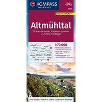 Kompass Fietskaart 3329 Altmülhtal
