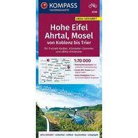 Kompass Fietskaart 3338 Hohe Eifel - Ahrtal - Mosel