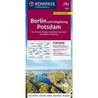 Kompass Fietskaart 3342 Berlin Und Umgebung