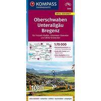 Kompass Fietskaart 3346 Ulm Und Umgebung