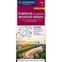 Kompass Fietskaart 3348 Frankfurt Am Main - Mainz