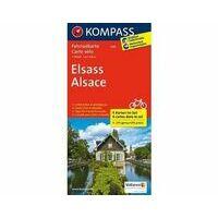 Kompass Fietskaart 3501 4-delig Elzas