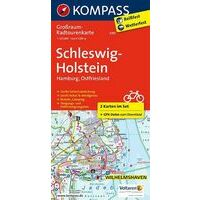Kompass Fietskaart 3701 Schleswig-Holstein, Hamburg, Ostfriesland