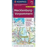 Kompass Fietskaart 3702 Mecklenburg-Vorpommern