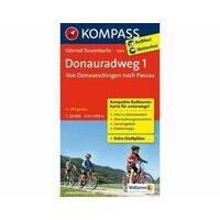 Kompass Fietskaart 7009 Donauradweg Deel 1