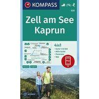 Kompass Wandelkaart 030 Zell Am See - Kaprun