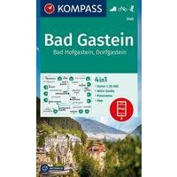 Kompass Wandelkaart 040 Bad Gastein