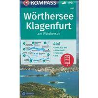 Kompass Wandelkaart 061 Wörthersee - Klagenfurt