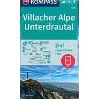 Kompass Wandelkaart 065 Villacher Alpe - Unterdrautal