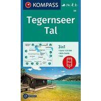 Kompass Wandelkaart 08 Tegernseer Tal
