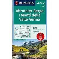 Kompass Wandelkaart 082 Ahrntaler Berge