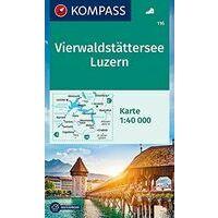 Kompass Wandelkaart 116 Vierwaldstättersee - Vierwoudstedenmeer