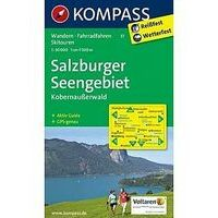 Kompass Wandelkaart 17 Salzburger Seengebiet