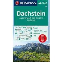 Kompass Wandelkaart 20 Dachstein - Ausseerland