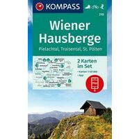 Kompass Wandelkaart Set 210 Wiener Hausberge