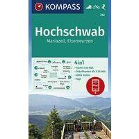 Kompass Wandelkaart 212 Hochschwab