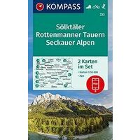 Kompass Wandelkaartens 223 Sölktäler - Rottenmanner Tauern