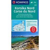 Kompass Wandelkaarten 2250 Corsica Noord Set